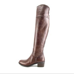 Vince Camuto Baldwin Leather Over the Knee Boots